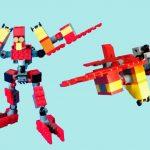 レゴ変形ロボ!アイアンペッカー