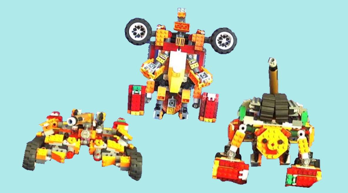 レゴ変形ロボ!アイアンボトム