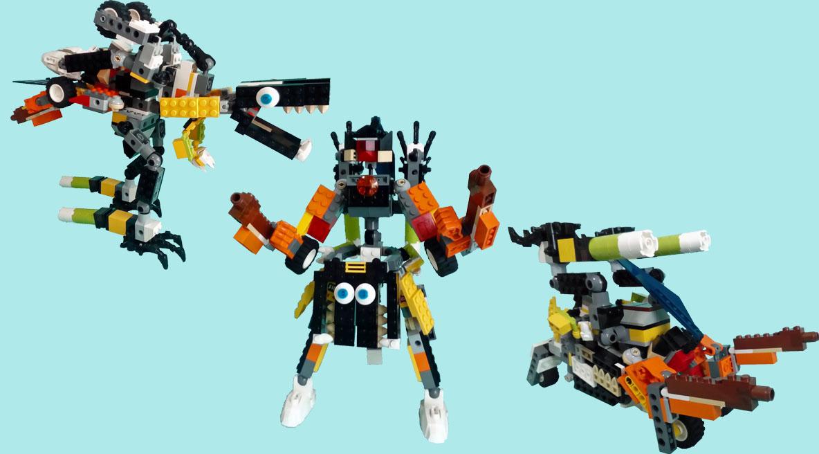 レゴ変形ロボ!ハードウェーブ(ガルディア)