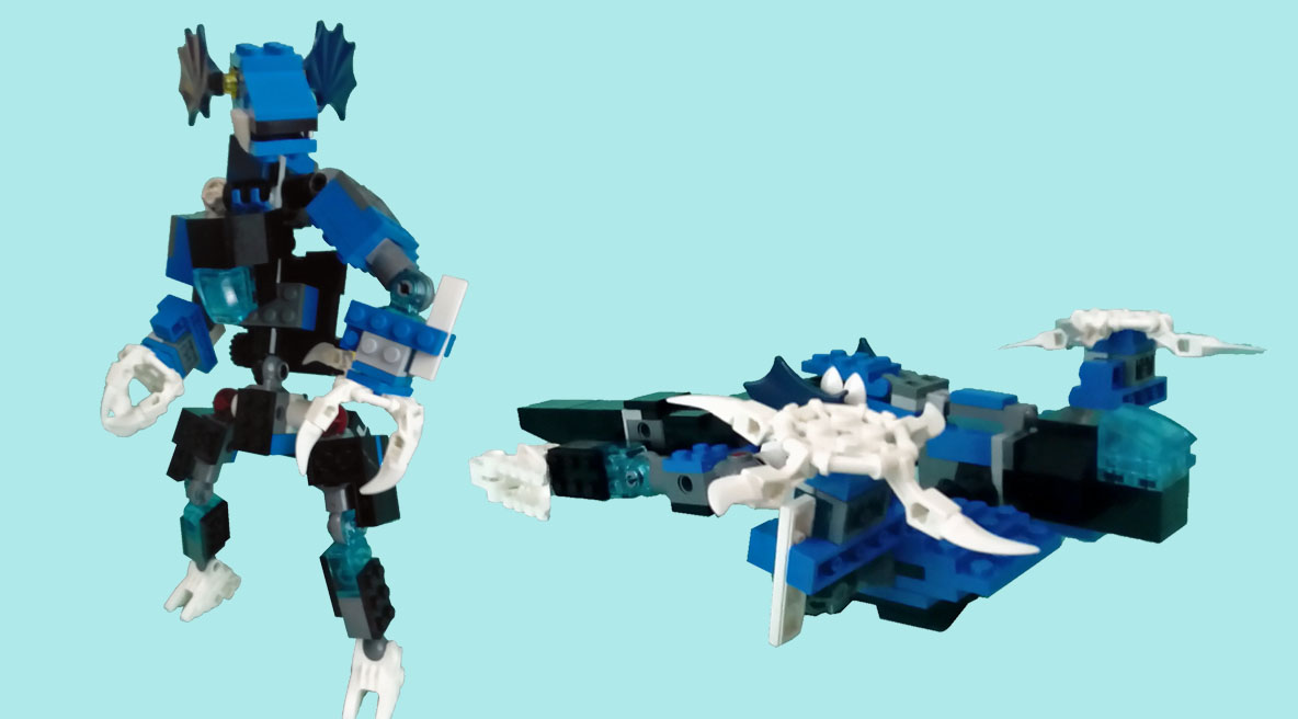 レゴ ズザード変形!