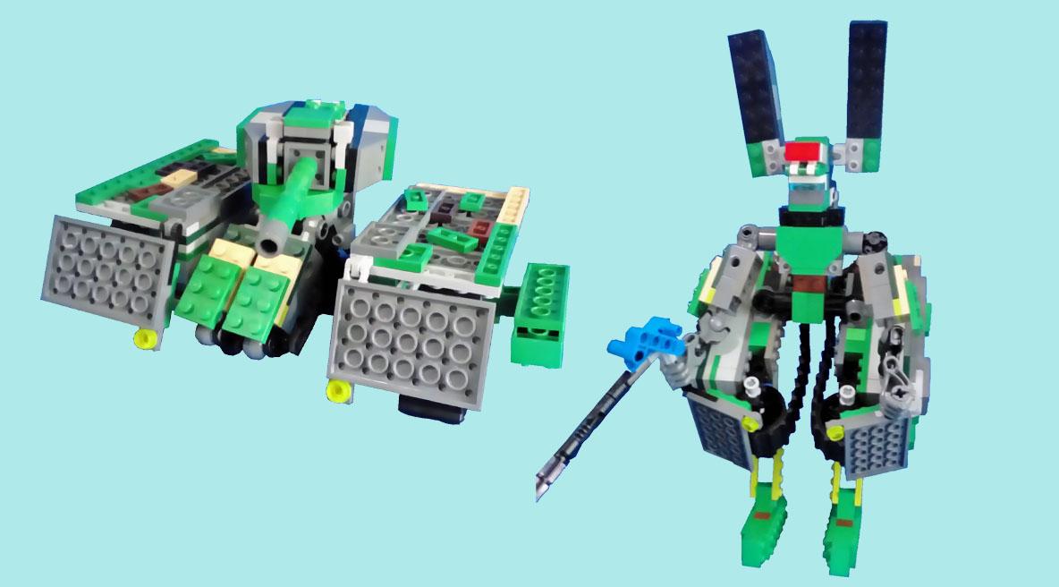 レゴ ティグレット変形!