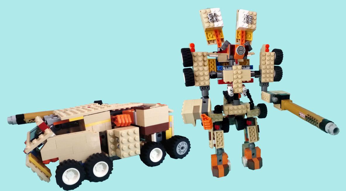 レゴ変形ロボ!ハードック