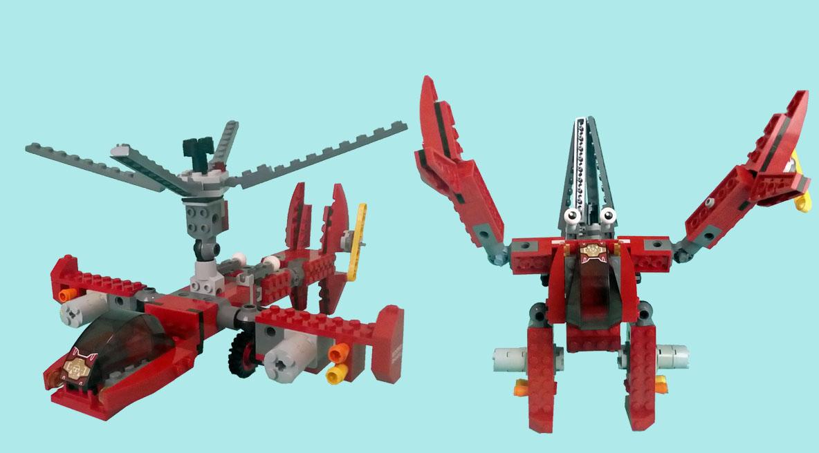 レゴ変形ロボ!ハーミュラー