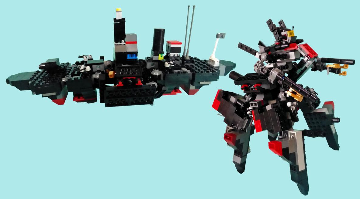 レゴ変形ロボ!バリウス