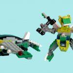 レゴ変形ロボ!フループ
