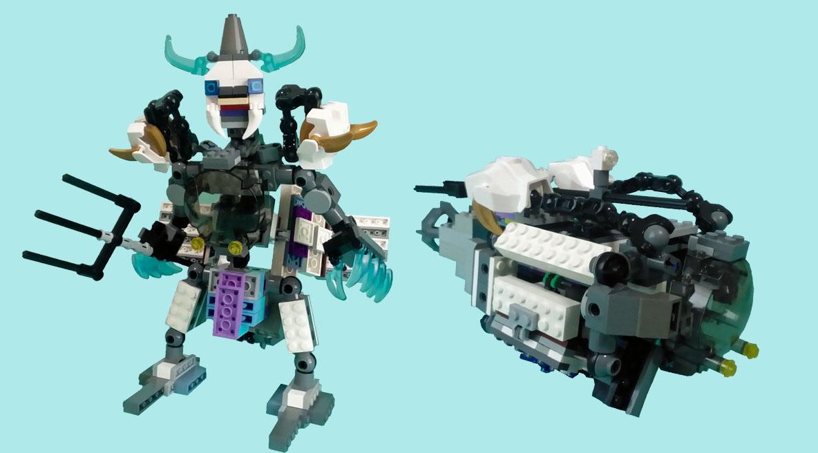 レゴ変形ロボ!ヴァイクロン
