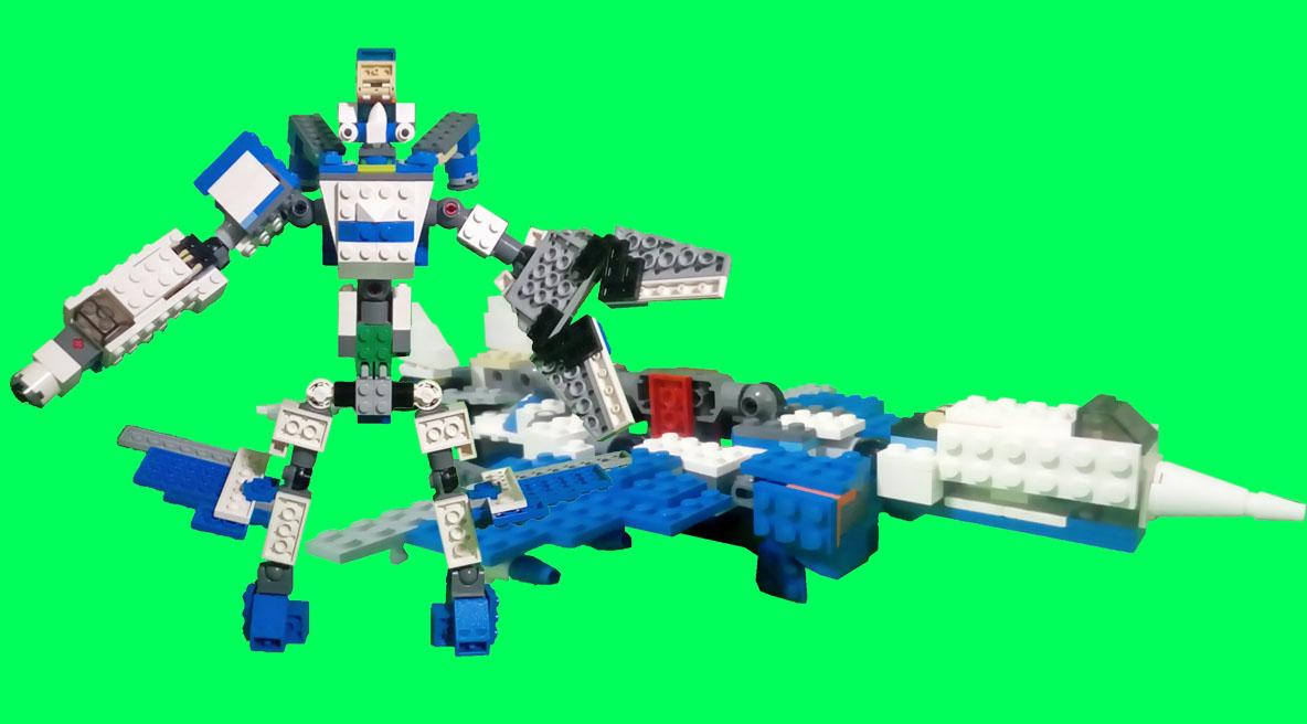 レゴ変形ロボ!スマッシュボルト
