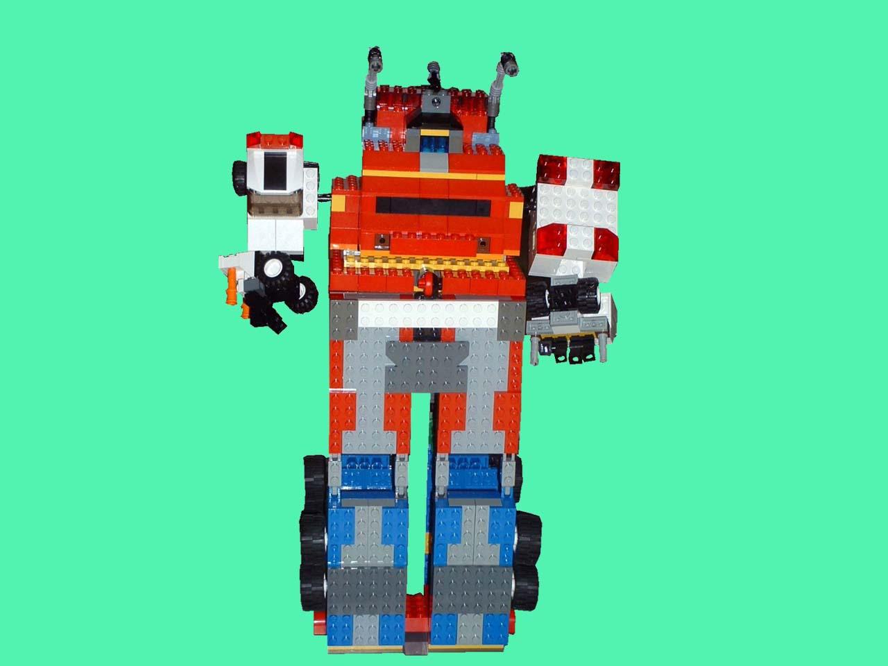 レゴで作成!サイレンビルダー